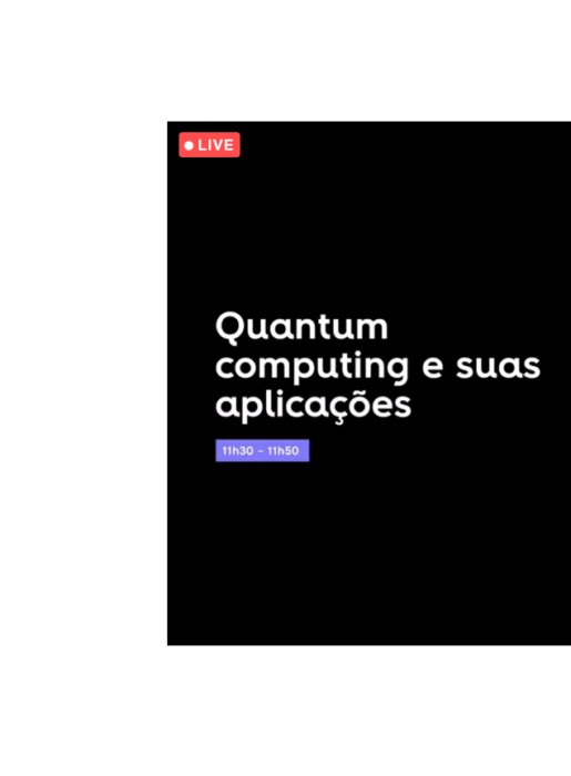 """Moving forward webinar com tema """"Supercomputação e suas aplicações"""""""